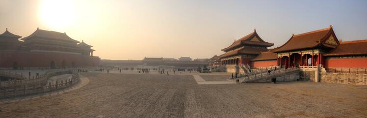 Photo Stands Beijing Forbidden City - Beijing / Peking - China