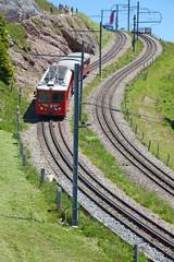Swiss alpine railway