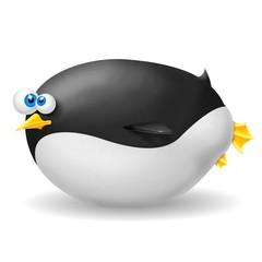 Fototapete - pinguino grasso