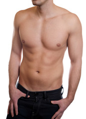 Toned muscular body