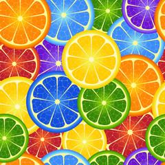 eamless  rainbow orange  background