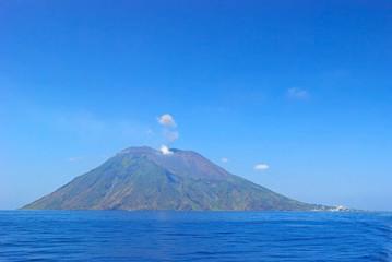 Stromboli volcano Sicily Italy