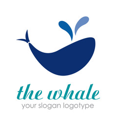 Logo the whale # Vector