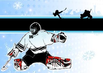 ice hockey background 1