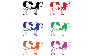 Colourful Cows