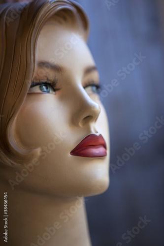 """""""Femme, féminin, mode, mannequin, top model, visage"""" photo libre de droits sur la banque d ..."""