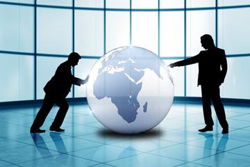 die Welt als Spielball der Manager