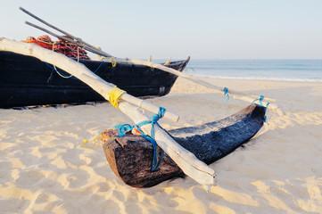 Typical Goan fishing boat