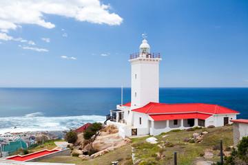 Poster Afrique du Sud lighthouse in Mossel bay, south africa