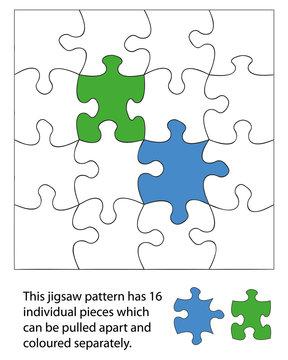 16 piece jigsaw