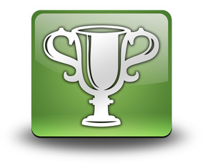 "Green 3D Effect Icon ""Award Cup"""