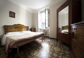 interior old bedroom