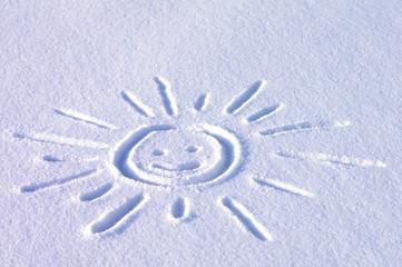 Śnieg rysunek