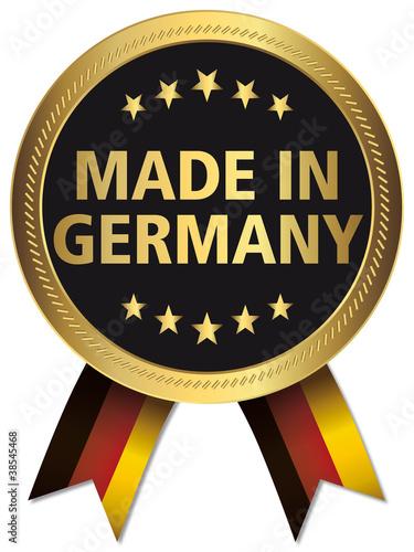 Quot qualitätssiegel made in germany stockfotos und