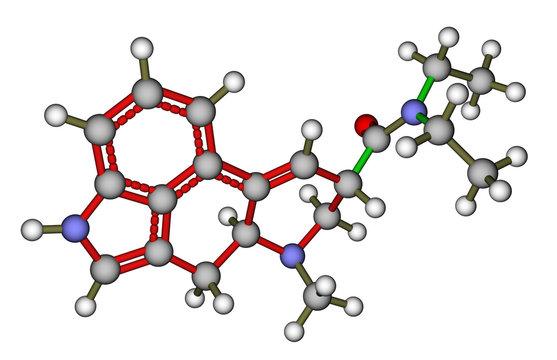 LSD molecular structure