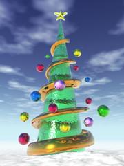 Choinka 3D - Christmas tree 3D