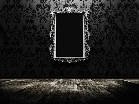 a beautiful vintage mirror
