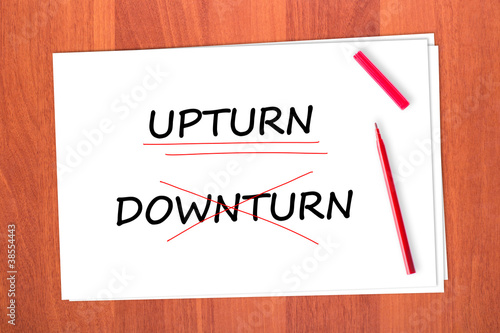Chose the word ... Upturn