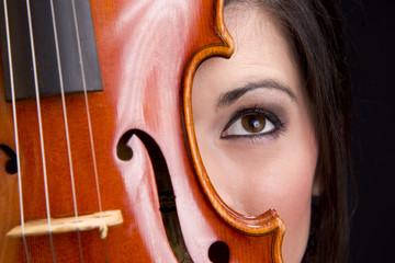 Face Behind Violin
