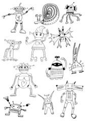 fancy robots