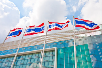 Thailand flags