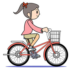 Mother who rides a bicycle01