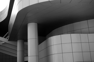 Fotobehang Theater Architecture Design