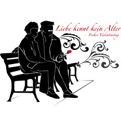 Valentinstag - Altes Paar