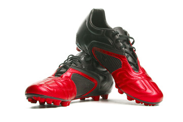 Footbal boots. Soccer boots.