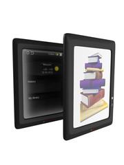 illustration of ebook reader device