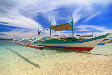 Traditional Philippines boat
