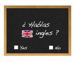 ¿Hablas ingles?.