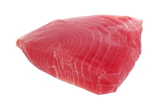 Yellowfin tuna steak