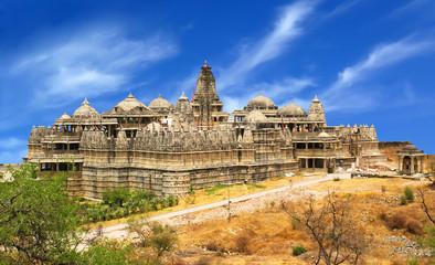 Jain Temple in Ranakpur,India