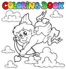 Coloring book Valentine theme 2