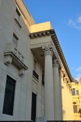 malaga bank with columns