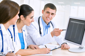 Fototapeta Medical team