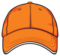 orange cap (baseball cap)