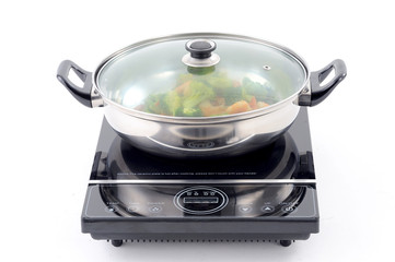 stir fry with electric pan