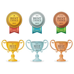 best choice award medal