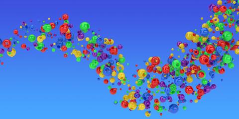 Spheres wave