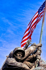 Iwo Jima War Memorial, USA