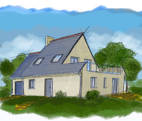 French house, real estate 16