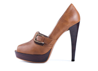 Elegant brown shoes