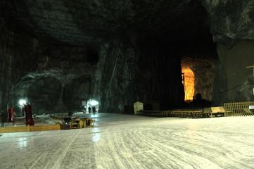 Praid (Parajd) underground salt mine