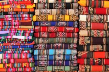 Bolivian (Andean region) traditional fabrics