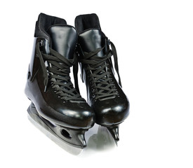Hockey skates. Isolated on white background