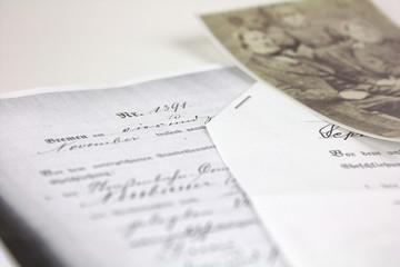 Dokument und Bild