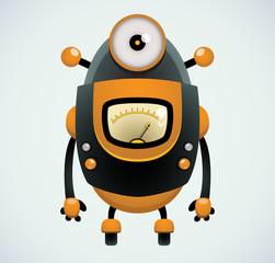 Cartoon Robot