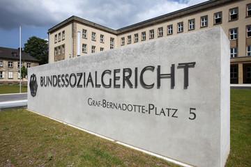 Das renovierte Bundessozialgericht in Kassel